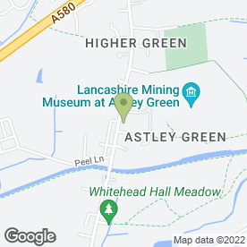 Map of Paul Rogers & Sons in Astley, Tyldesley, lancashire