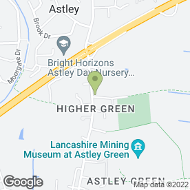 Map of ASTLEY VAN HIRE in Astley, Manchester, lancashire