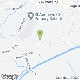 Map of High Flyers Childcare in Worsley, Manchester, lancashire