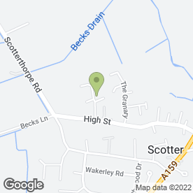 Map of Chris Askew Builder in Scotter, Gainsborough, lincolnshire