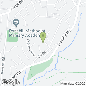 Map of Catherine Yates Mobile Chiropodist & Podiatrist in Ashton-Under-Lyne, lancashire
