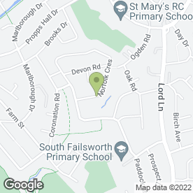Map of Concept Building Services in Failsworth, Manchester, lancashire