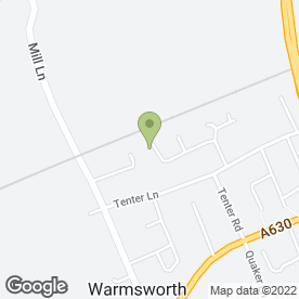 Map of Avon Independant Sales Leader - Julie Bradley in Warmsworth, Doncaster, south yorkshire