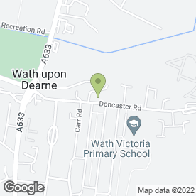 Map of Dearne Electrical Ltd in Rotherham, south yorkshire