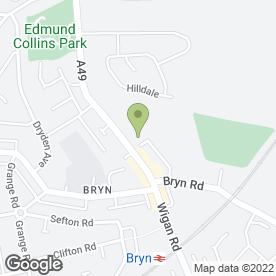Map of Brooklands Childcare in Wigan, lancashire
