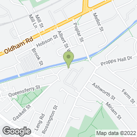 Map of Advanced Car Hi-Fi & Security in Newton Heath, Manchester, lancashire