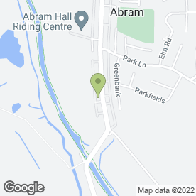 Map of Hemsleys for Cleanest Carpets in Abram, Wigan, lancashire