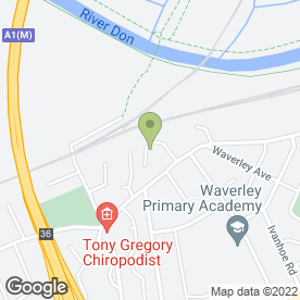 Map of Paul Oliver Plumbing & Heating in Balby, Doncaster, south yorkshire