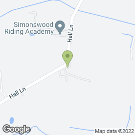 Map of Paws With Us in Simonswood, Liverpool, merseyside