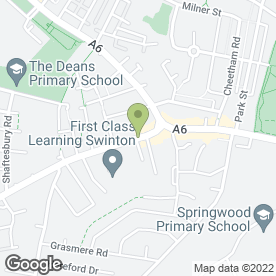 Map of Blinds by Sagon in Swinton, Manchester, lancashire