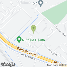 Map of Building Blocks Montessori & Day Nursery in Doncaster, south yorkshire