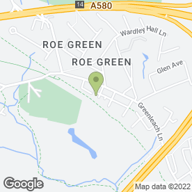 Map of Worsley Laser Clinic in Manchester, lancashire