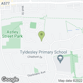 Map of Charnwood Communications in Tyldesley, Manchester, lancashire