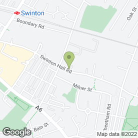 Map of MARTINS MOTORS in Swinton, Manchester, lancashire