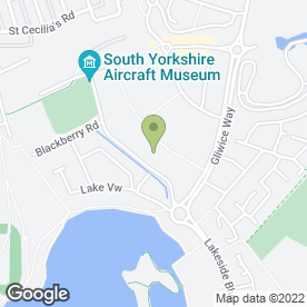 Map of Vue Cinema in Doncaster, south yorkshire