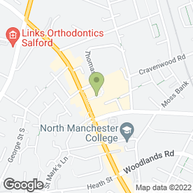 Map of Cash Converters in Manchester, lancashire