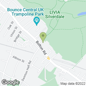 Map of D & M Burgess in Swinton, Manchester, lancashire
