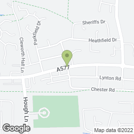 Map of Tyldesley Hair & Beauty Salon in Tyldesley, Manchester, lancashire