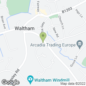 Map of Highgate Decorators Ltd in Waltham, Grimsby, south humberside