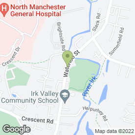 Map of Impact College in Manchester, lancashire