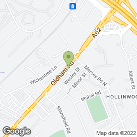 Map of shuttersinc.co.uk in Failsworth, Manchester, lancashire