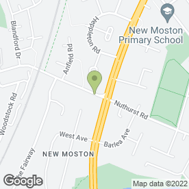 Map of B.S Systems Security Ltd in New Moston, Manchester, lancashire