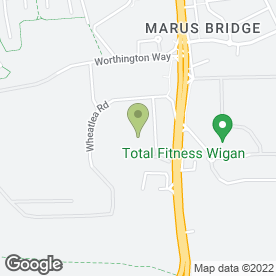 Map of Wheat Lea Motors in Wigan, lancashire