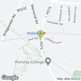 Map of Clewarth & Webster Ltd in Worsley, Manchester, lancashire