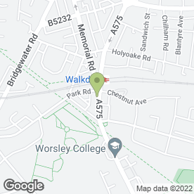 Map of Clewarth & Webster Flooring Ltd in Worsley, Manchester, lancashire