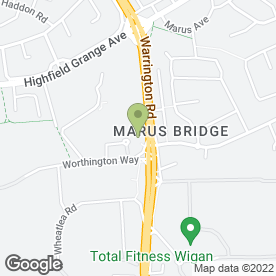 Map of Asda in Wigan, lancashire