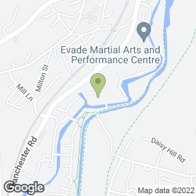 Map of Wheel Guru in Mossley, Ashton-Under-Lyne, lancashire