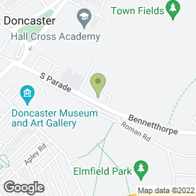 Map of Womens Institute in Doncaster, south yorkshire