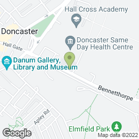 Map of Keeble Hawson Solicitors in Doncaster, south yorkshire