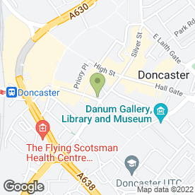 Map of Horton Knights Estate Agents in Doncaster, south yorkshire