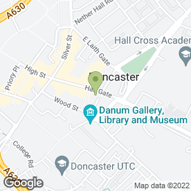Map of Best Kebabs & Burgers in Doncaster, south yorkshire