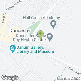Map of Twiggys Health Spa Ltd in Doncaster, south yorkshire