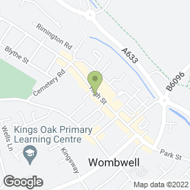 Map of The Fone Home in Barnsley, south yorkshire