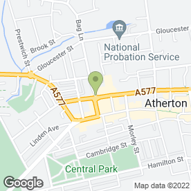 Map of Brook 'En' Dale Lettings in Atherton, Manchester, lancashire