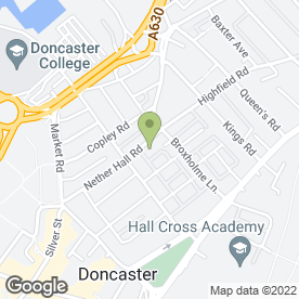 Map of L.W.E. Commercial Property Advisers in Doncaster, south yorkshire