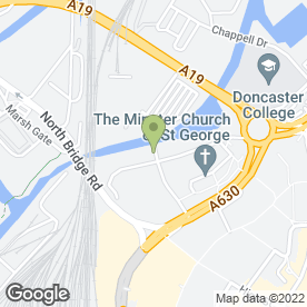 Map of Doncaster Sub Aqua Club in Doncaster, south yorkshire
