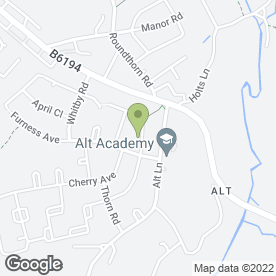 Map of Manor School of Motoring in Oldham, lancashire
