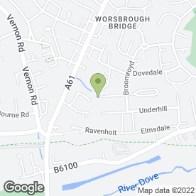 Map of Andrew Fox in Worsbrough, Barnsley, south yorkshire