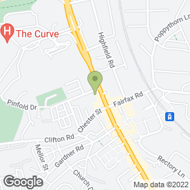 Map of Premier Inn in Prestwich, Manchester, lancashire
