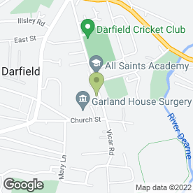 Map of Quick Pass in BARNSLEY, south yorkshire