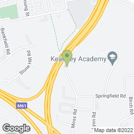 Map of Charltons Sweeper Hire in Kearsley, Bolton, lancashire