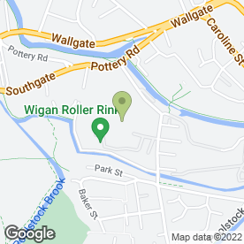 Map of A & S Wallace Ltd in Wigan, lancashire