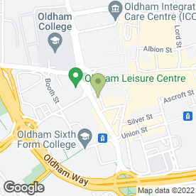 Map of The Pamper Lounge in Oldham, lancashire