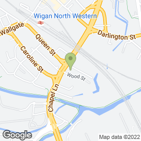 Map of ELITE HEALTHCARE LTD in Wigan, lancashire