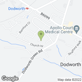 Map of KG Building in Dodworth, Barnsley, south yorkshire