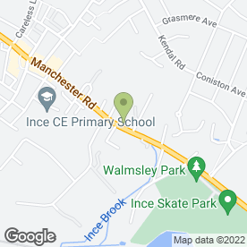 Map of PL Auto in Ince, Wigan, lancashire